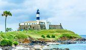 stock photo of lighthouse  - Barra Lighthouse  - JPG