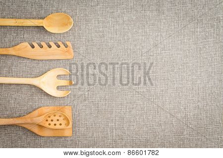 Wooden Kitchen Utensils For Cooks