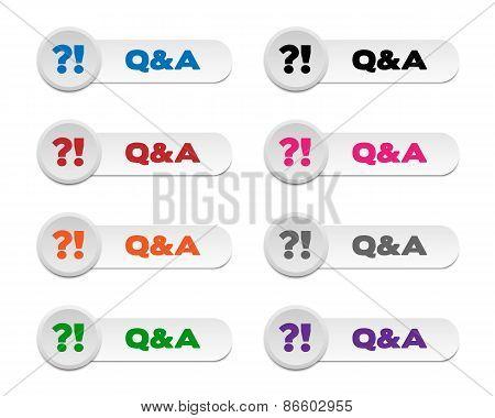 Q&a Buttons