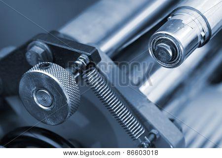 Metal Parts Of The Mechanism Of Heavy Industry