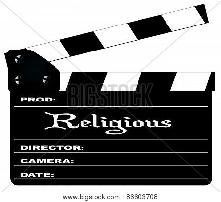 Religious Clapperboard