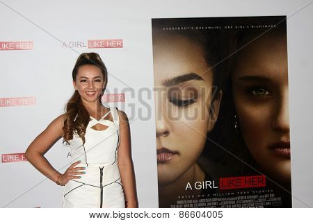 LOS ANGELES - MAR 27:  Lexi Ainsworth at the
