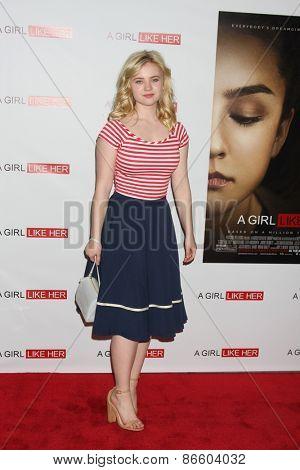 LOS ANGELES - MAR 27:  Sierra McCormick at the
