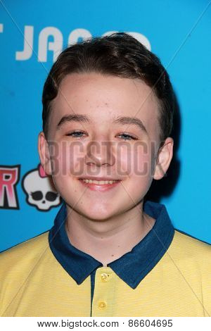 LOS ANGELES - MAR 26:  Benjamin Stockham at the Just Jared's Throwback Thursday Party at the Moonlight Rollerway on March 26, 2015 in Glendale, CA