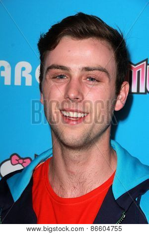 LOS ANGELES - MAR 26:  Sterling Beaumon at the Just Jared's Throwback Thursday Party at the Moonlight Rollerway on March 26, 2015 in Glendale, CA