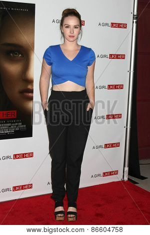 LOS ANGELES - MAR 27:  Camryn Grimes at the