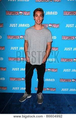 LOS ANGELES - MAR 26:  Austin North at the Just Jared's Throwback Thursday Party at the Moonlight Rollerway on March 26, 2015 in Glendale, CA