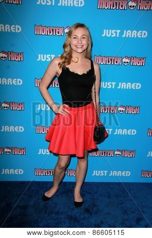 LOS ANGELES - MAR 26:  Shelby Wulfert at the Just Jared's Throwback Thursday Party at the Moonlight Rollerway on March 26, 2015 in Glendale, CA