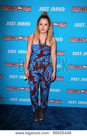 LOS ANGELES - MAR 26:  Taylor Spreitler at the Just Jared's Throwback Thursday Party at the Moonlight Rollerway on March 26, 2015 in Glendale, CA