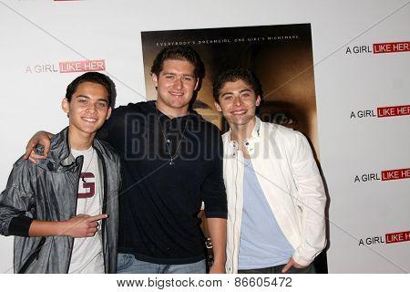 LOS ANGELES - MAR 27:  Ochoa Boyz at the