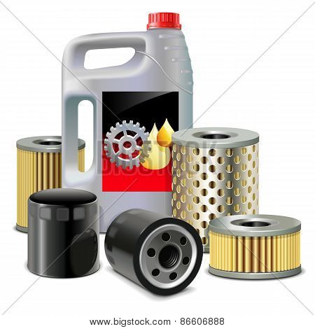Vector Engine Oil And Filters