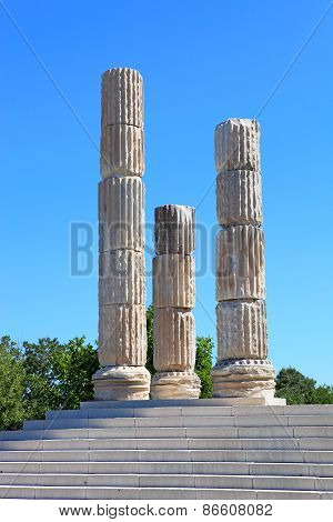 Apollon Smintheus Temple Near Assos In Turkey