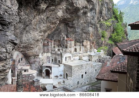 Monastery Of Sumela In Trabzon, Turkey