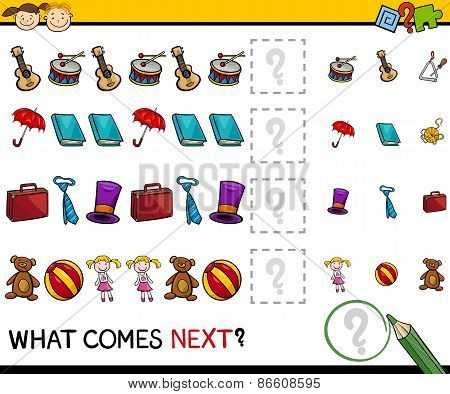 What Comes Next Game Cartoon