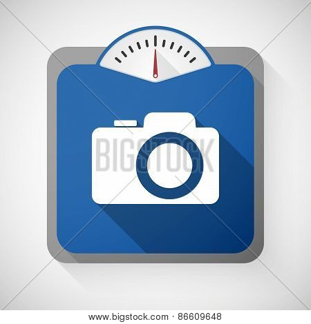 Weight Scale With A Camera