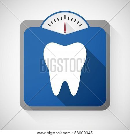 Weight Scale With A Tooth