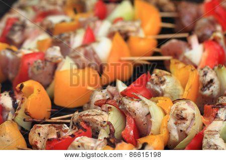 Pig Pork Meat With Vegetable