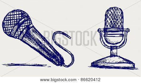 Sketch microphone