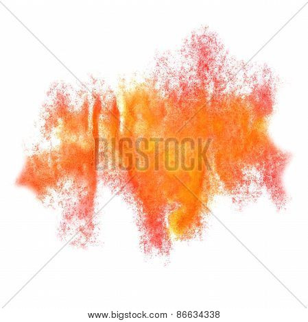 Abstract watercolor pink,orange background for your design insul