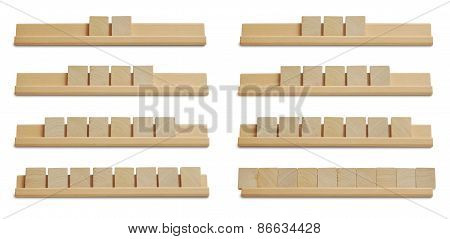 Blank Wood Tiles