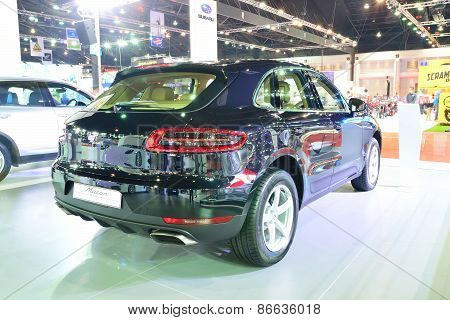 Bangkok - March 26 : New Porsche Macan, Cross Over Car, On Display At 36Th Bangkok International Mot