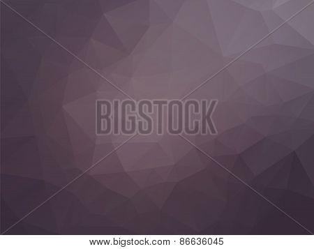 Modern Brown Triangular Background