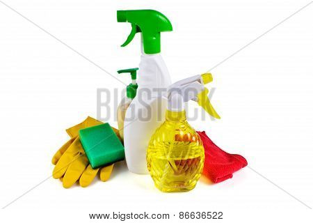 Cleaning, Sprayer Detergent