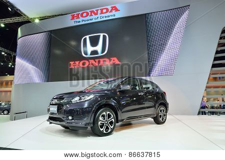 Bangkok - March 26 : Honda Hrv, Mini Suv, On Display At 36Th Bangkok International Motor Show On Mar