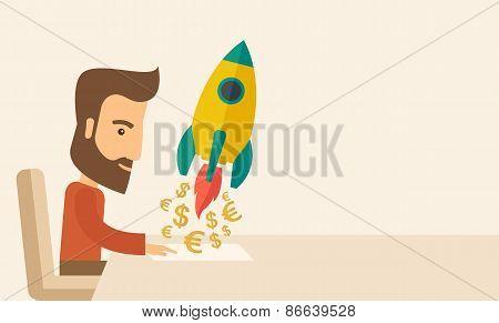On-line startup