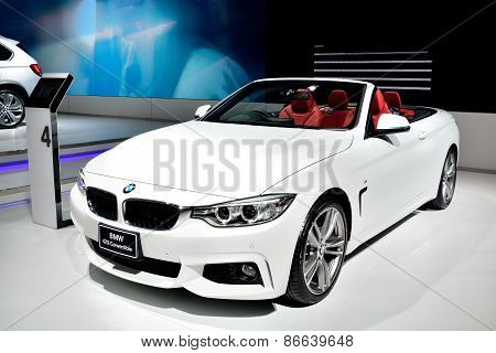 Bangkok - March 26 : Bmw 420I Convertible On Display At 36Th Bangkok International Motor Show On Mar