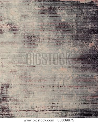 Antique vintage textured background. With different color patterns: brown; gray; black