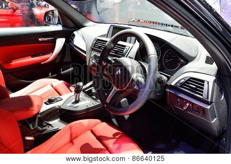 Bangkok - March 26 : Interior Design Of Passenger Room Of Bmw 220I On Display At 36Th Bangkok Intern