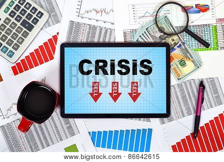 Tablet With Crisis