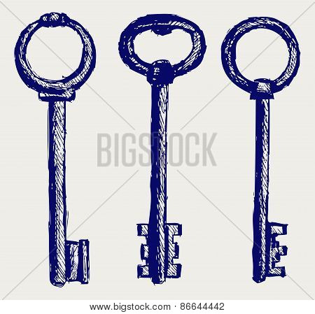 Set keys sketch