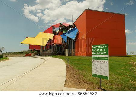Parque Biodiversidad Biodiversity Museum In Panama City