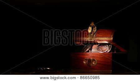 Treasure Chest Full Of Coins