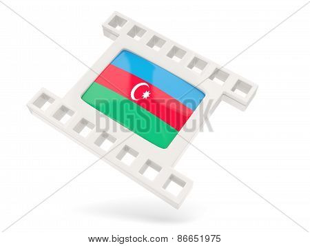 Movie Icon With Flag Of Azerbaijan
