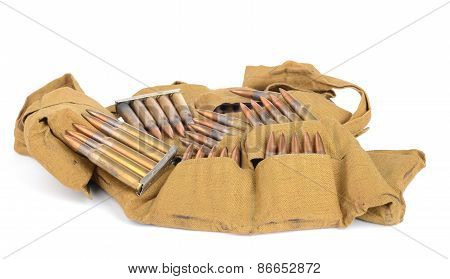 Cartridges, Clips, And Bandolier.