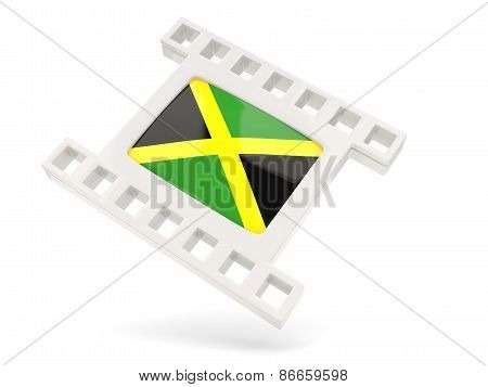 Movie Icon With Flag Of Jamaica