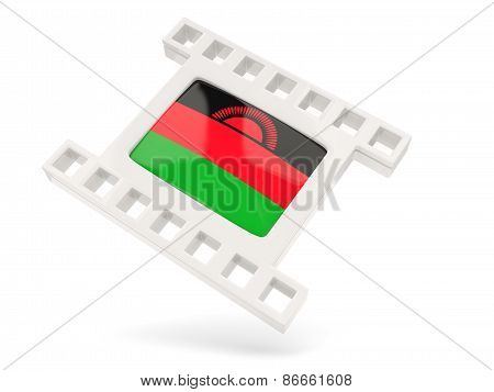 Movie Icon With Flag Of Malawi