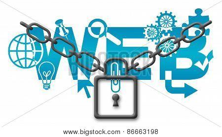 Web Security Concept