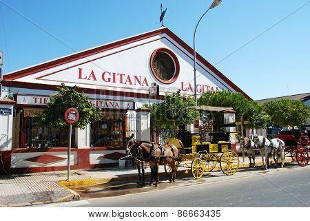 La Gitana Bodega, Sanlucar be Barrameda.