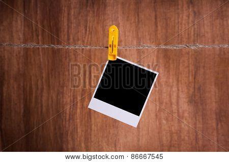 Blank Instant Photo
