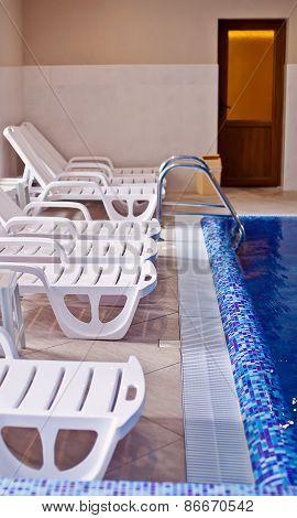 Interior Of Swimming Pool
