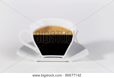 A Half Cup Of Coffee.