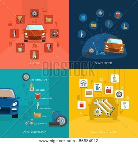 Auto Service Design Concept