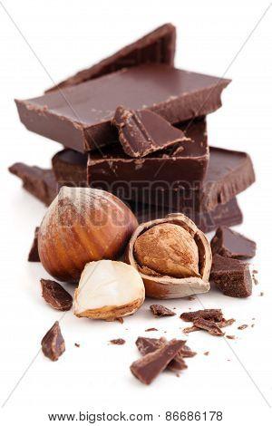 Chocolate And Hazelnuts.
