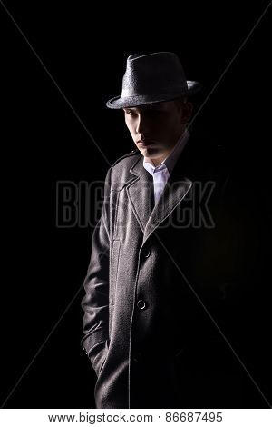 Detective In Hat