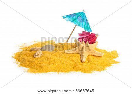 Sand And Shells.