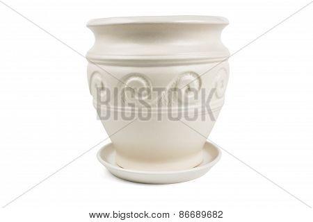 Blank Flower Pot